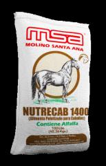 Alimentos Para Caballos Nutrecab 1400