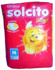 Pañal Bebe Solcito Mediano