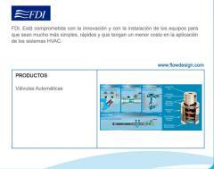 Válvulas Automáticas FDI