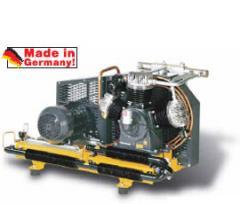 Compresores montados sobre trineo/base