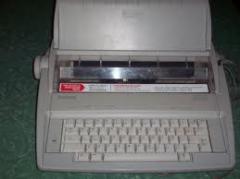 Máquina de Escribir Brother AX 10