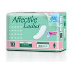 Toallas Sanitarias Affective Ladies