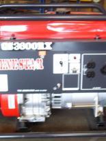 Generador Gasolina Marca Genestar Modelo GS 3,600