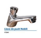 Grifería para Lavamanos Llave push Nobill