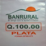 Bolsas plásticas Banrural