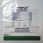 Bolsas plásticas Triple
