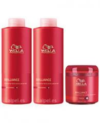 Pack wella care brillance fino/normal xl