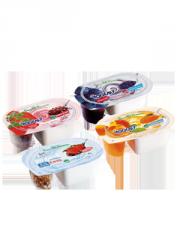 Yogurt con topping