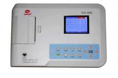 Electrocardiografo digital de 3 canales, Serie ECG 300G