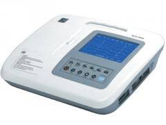 Electrocardiógrafo digital Serie ECG de 3 canales serie B