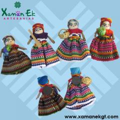 Muñeca Quitapenas o Worry Dolls