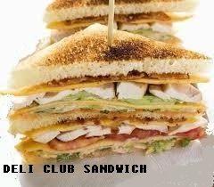 Deli club sandwich