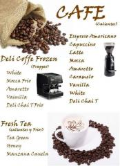 Especialidades de cafe