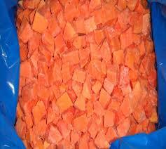 Papaya congelada IQF