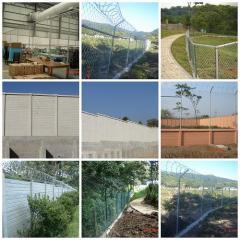 Fences for dacha