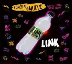Aguas gaseosas LINK de Guatemala, sabor agua de coco, en Comprabien