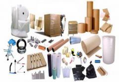 Material de empaque, etiquetado y embalaje