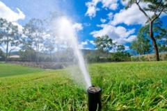 Sistema de riego para jardin en Guatemala