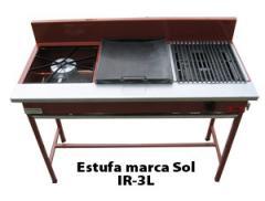Estufa marca Sol IR 3L