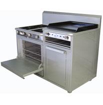 Estufa con horno Modelo HES-424