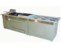Estufa con horno Modelo HEDCHF-600-24