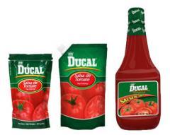 Salsa de tomate Ducal