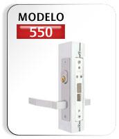 Cerradura modelo 550