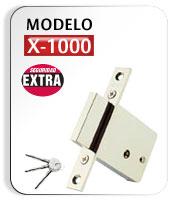 Cerradura modelo X1000