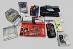 Controles para A/C, Termómetros, Amperímetros y