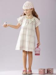 Vestido de gasa niña 2 a 14 años