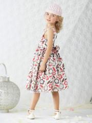 Vestido de ceremonia estampado niña 2 a 14 años