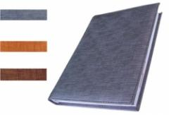 Agenda de color gris
