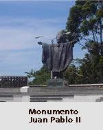 Estructura metálica Monumento Juan Pablo II