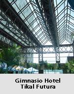 Estructura metálica Gimnasio Hotel Tacal Futura