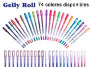 Bolígrafos Gelly roll