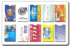 Sobres protectores para tarjetas