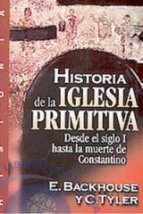 Libro Historia de la iglesia primitiva