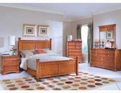 Set de muebles de madera