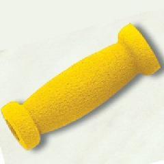 Puсos de goma de color amarillo