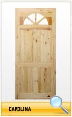Puerta de madera Carolina