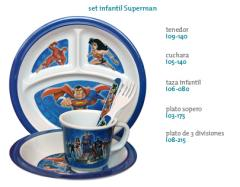 Set infantil Superman