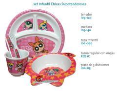 Set infantil Chicas Superpoderosas