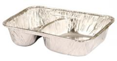 Bandeja de Aluminio 2 Divisiones