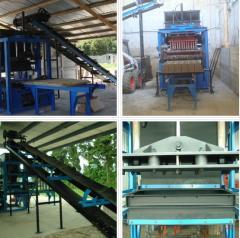 Maquinaria y equipo para extracción de bloques de