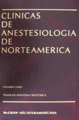 Libro Clinicas Anestesiologicas