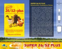 Antibióticos 26/52 Plus