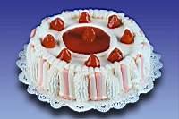 Pastel - Fresas con Crema Especial