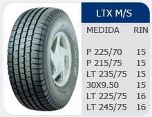Llantas LTX/MS