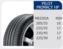Llantas Pilot Primacy HP