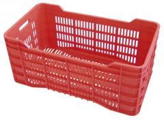 Cajas agrícolas de plástico